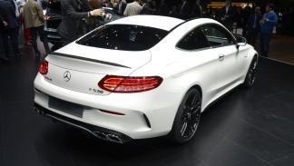 Mercedes Clase C Coupé 2015 Salón Frankfurt