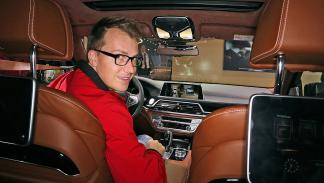 Cockpits revolucionarios del IAA BMW interior