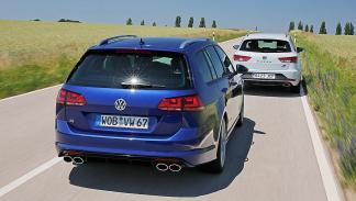 Volkswagen Golf R Variant contra el Leon ST Cupra 280 zagas