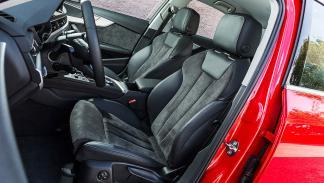 Nuevo Audi A4 asientos