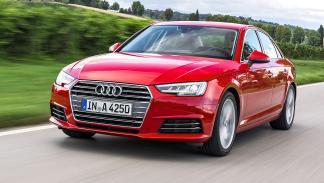 Nuevo Audi A4 morro