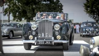 Rolls-Royce Goodwood revival 2015 silver dawn