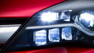 LED IntelliLux opel astra 2016