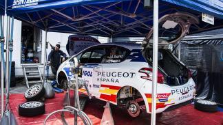 Peugeot España Racing Team, Carlos Sainz, Pepe Lopez, Jose Antonio Suarez, Cohet