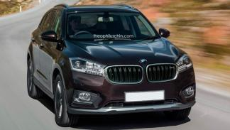 Borgward BX7 parrilla BMW