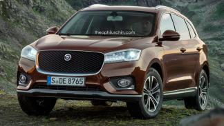 Borgward BX7 parrilla Jaguar