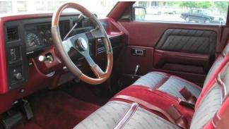 Pick-up Shelby interior