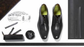 Zapatos diseñados para Jaguar por Sweeney