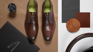 Jaguar en colaboración con sweeney crean colección zapatos