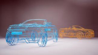 Range Rover Evoque Cabrio teaser 3d