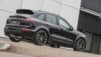 Porsche Cayenne Lumma CLR 558 GT-R trasera