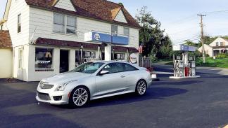 Prueba: Cadillac ATS V Coup 2015 3 cuartos