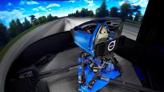 Simulador de Chasis de Volvo 3