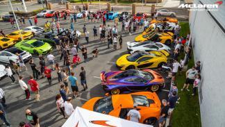 McLaren Newport Beach fiesta