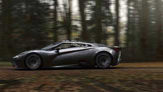 Vensepto concept car steel drake lateral