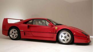 Ferrari F40 Personalizado lateral