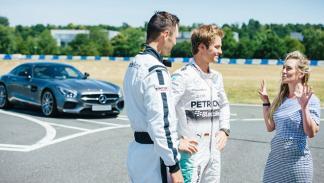 Nico Rosberg, Martin Kaymer Mercedes-AMG GT S 2