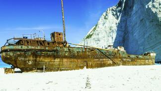 Rincones del mundo barcos varados 4