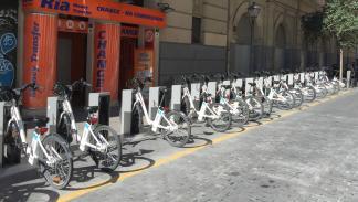 bicimad Plaza de Callao