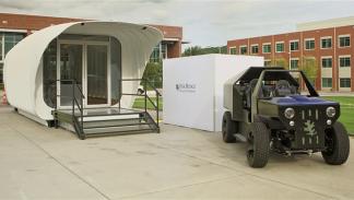 casa y coche impresos en 3D inteconectados 2
