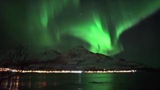 aurora boreal ballenas halloween 2