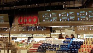 Supermercado del futuro de Coop y Accenture 2