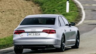 Prueba: Audi S8 Plus pilotos