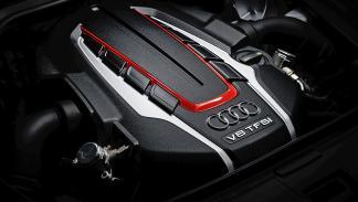 Prueba: Audi S8 Plus motor