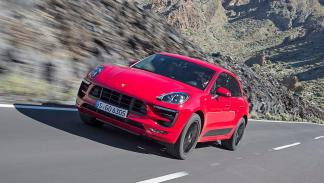 Prueba: Porsche Macan GTS. El SUV deportivo definitivo. Exterior dinámica.