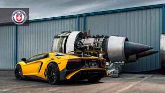 Lamborghini Aventador SV HRE Performance reactor