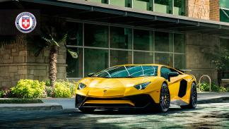 Lamborghini Aventador SV HRE Performance frontal