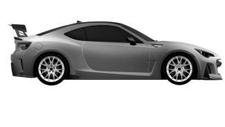 Subaru BRZ STI perfil