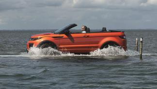 Range Rover Evoque Convertible capacidad 4x4