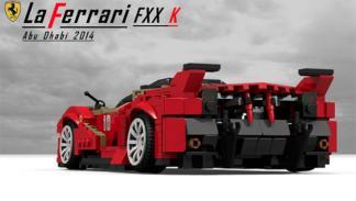 Ferrari LaFerrari FXX K Lego 2