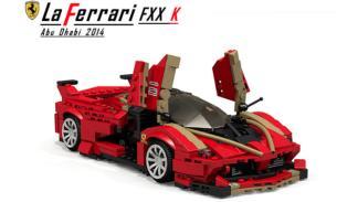 Ferrari LaFerrari FXX K Lego 3