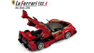 Ferrari LaFerrari FXX K Lego 4