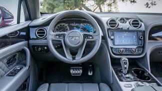 Prueba del Bentley Bentayga. Lujo x 4 volante