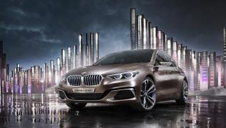 BMW Compact Sedan Concept frontal
