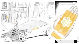 Interfaz  PSA  conducción autónoma