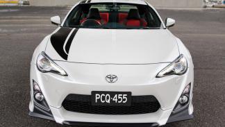 Toyota GT86 Blackline Edition morro