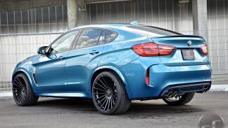 BMW X6 M by DS tres cuartos traseros