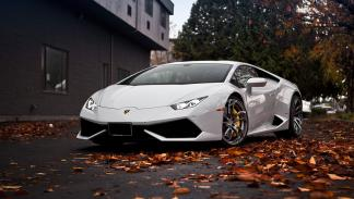 Lamborghini Huracan pur wheels frontal