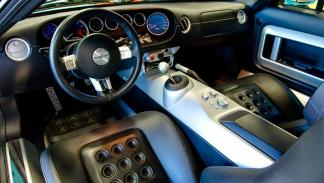 Ford GT Heritage Edition interior