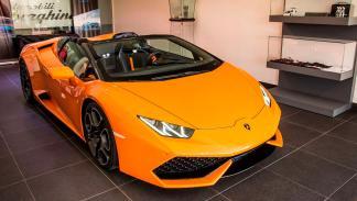 Lamborghini Huracán Spyder naranja
