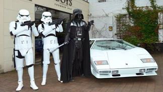 Lamborghini Countach Darth Vader 3