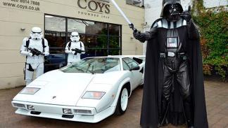 Lamborghini Countach Darth Vader 4