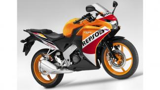 Motos-125-con-marchas-Honda-CBR-deportiva-Repsol