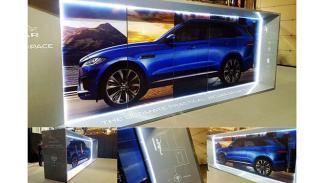 El jaguar F-Pace Recorre España tecnología 3D 3