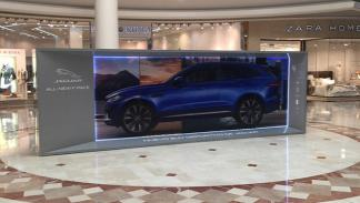 El jaguar F-Pace Recorre España tecnología 3D 4