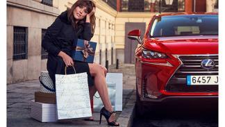 Adriana Ugarte Lexus Christmas Experience 4